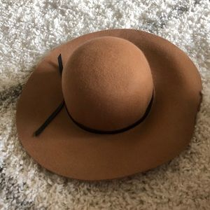 Camel colored hat